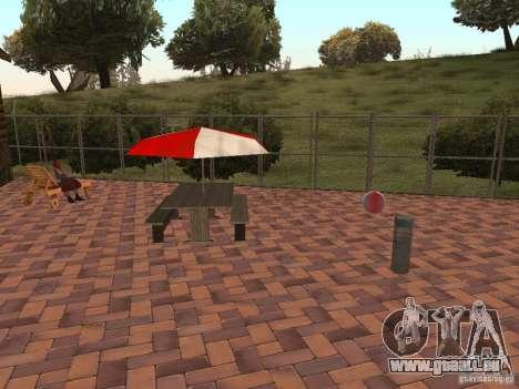 Villa neuve pour CJ pour GTA San Andreas septième écran