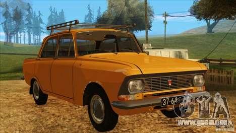 Moskvitch 412 v2.0 pour GTA San Andreas laissé vue