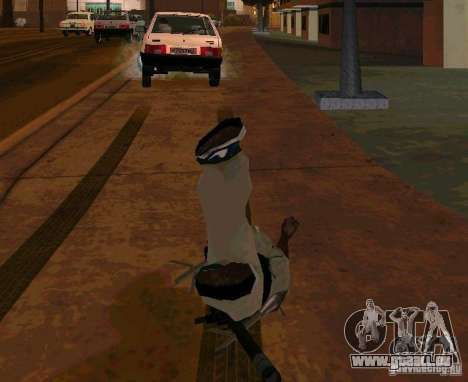 Animations de recrutement de GTA IV pour GTA San Andreas troisième écran