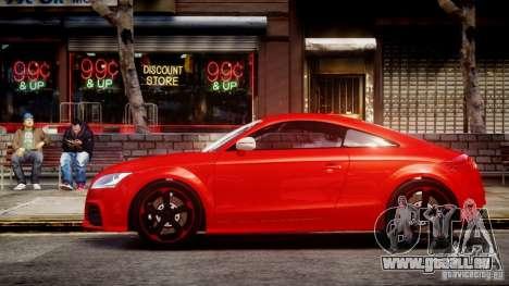Audi TT RS 2010 pour GTA 4 Vue arrière de la gauche