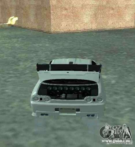 Nissan Skyline R32 GT-R pour GTA San Andreas vue intérieure