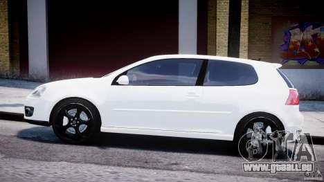 Volkswagen Golf 5 GTI pour GTA 4 est une gauche