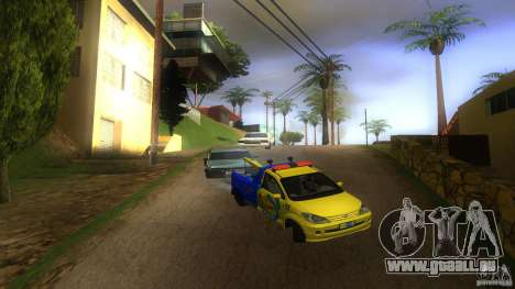 Toyota Avanza Towtruck pour GTA San Andreas vue de côté