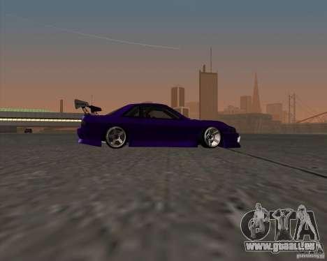 Nissan Silvia S13 Nismo tuned pour GTA San Andreas vue arrière