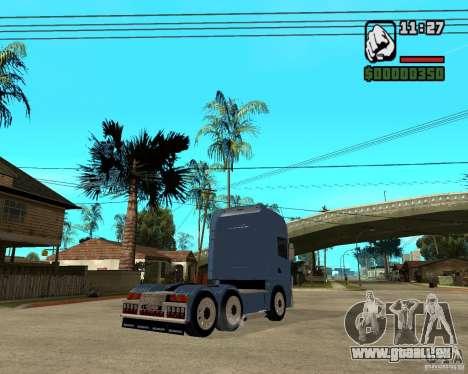 Scania 164L 580 V8 Black Beaunty pour GTA San Andreas vue de droite