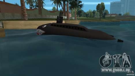 Vice City Submarine with face pour une vue GTA Vice City de la gauche