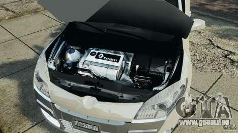 Renault Megane Coupe pour GTA 4 est une vue de l'intérieur