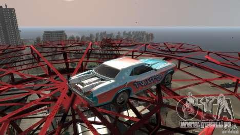 Afterburner Flatout UC für GTA 4 linke Ansicht
