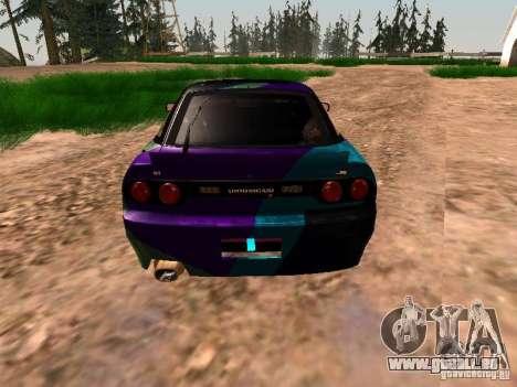 Nissan Sil80 Nate Hamilton pour GTA San Andreas vue arrière