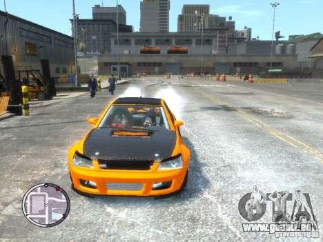 Sultan RS HD FreeStyle Team pour GTA 4 Vue arrière de la gauche
