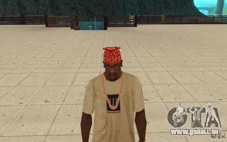 Halloween-bandana für GTA San Andreas