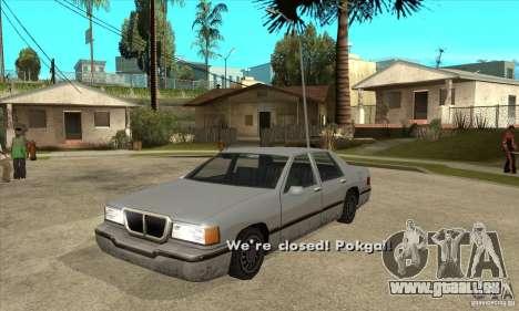 Moteur marche/arrêt phares et portes pour GTA San Andreas