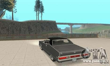 Mercury Marquis 2dr 1971 für GTA San Andreas zurück linke Ansicht