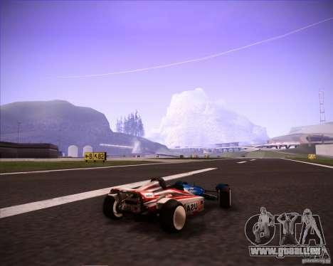 Track Mania Stadium Car für GTA San Andreas linke Ansicht