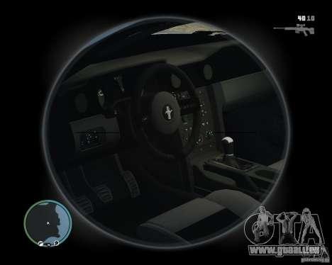 Ford Mustang GT 2005 v1.2 pour GTA 4 Vue arrière