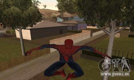The Amazing Spider-Man Anim Test v1.0 pour GTA San Andreas deuxième écran