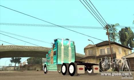 Peterbilt 387 Haut 4 für GTA San Andreas rechten Ansicht