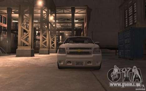Chevrolet Avalanche v1.0 für GTA 4 Rückansicht