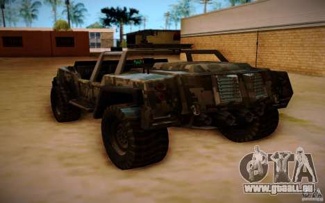 SOC-T from BO2 für GTA San Andreas linke Ansicht