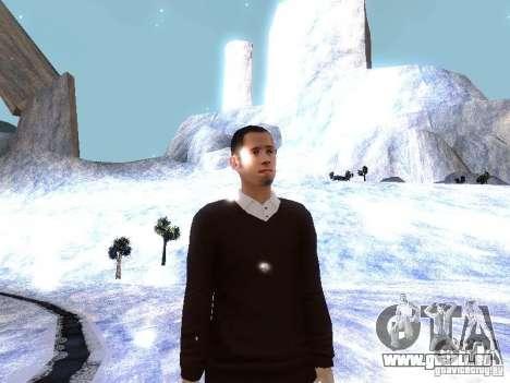 Snow MOD HQ V2.0 pour GTA San Andreas dixième écran