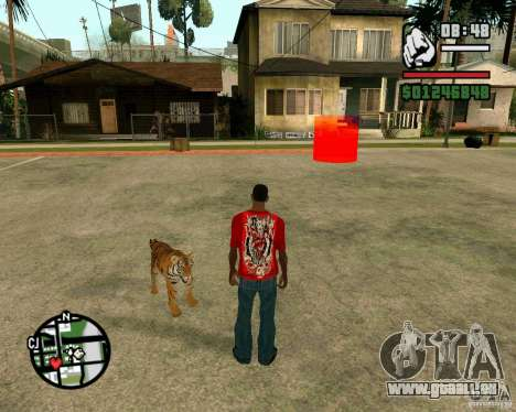Tiger in GTA San Andreas für GTA San Andreas
