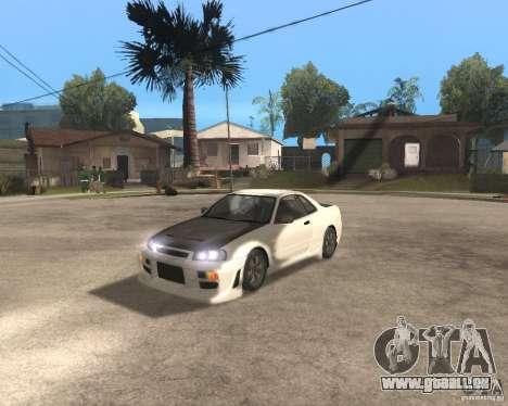 Nissan Skyline R-34 TUNED für GTA San Andreas