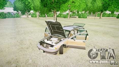 Chevrolet Caprice Civil 1992 v1.0 für GTA 4 Seitenansicht