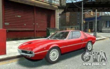 Alfa Romeo Montreal 1970 pour GTA 4