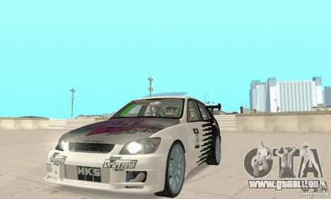 Lexus IS300 Drift Style pour GTA San Andreas