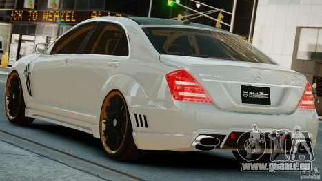 Mercedes-Benz S Class W221 Black Bison 2009 pour GTA 4 est une gauche