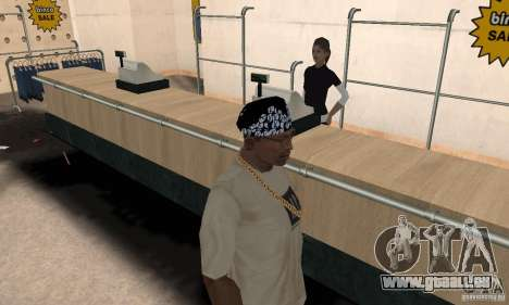 Bandana CS für GTA San Andreas zweiten Screenshot