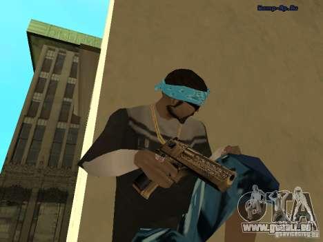 Deagle doré pour GTA San Andreas