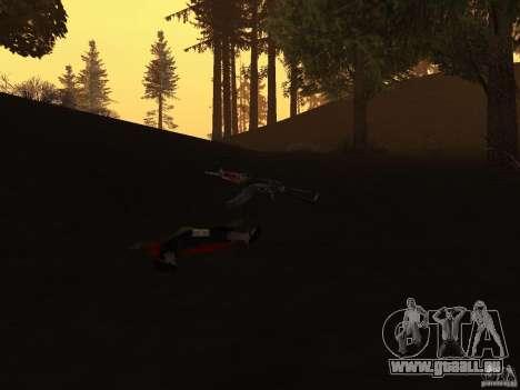 Pak version domestique armes 2 pour GTA San Andreas cinquième écran