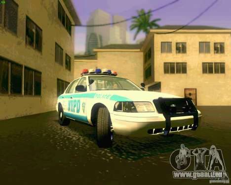 Ford Crown Victoria 2003 NYPD police pour GTA San Andreas