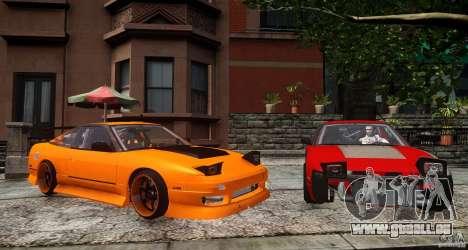 Nissan 240SX Korch pour GTA 4