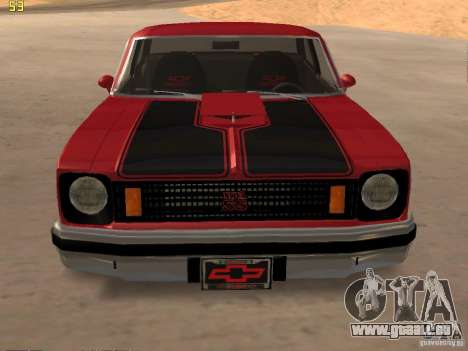 Chevrolet Nova Chucky pour GTA San Andreas vue de droite