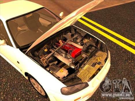 Nissan Skyline R34 Tunable pour GTA San Andreas moteur