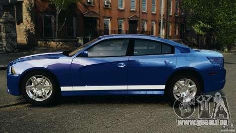 Dodge Charger Unmarked Police 2012 [ELS] für GTA 4 linke Ansicht