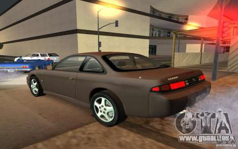 Nissan 200SX pour GTA San Andreas laissé vue