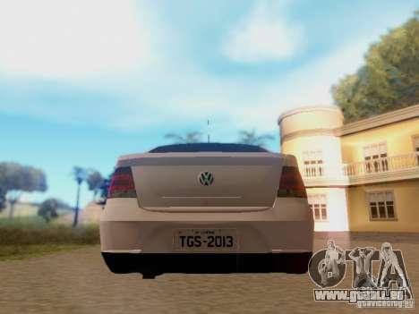 Volkswagen Voyage G5 Roda Passat CC pour GTA San Andreas vue de droite