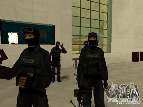 Aide Swat pour GTA San Andreas quatrième écran