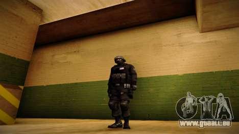 S.W.A.T. pour GTA San Andreas deuxième écran