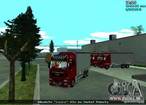 MAN TGL für GTA San Andreas