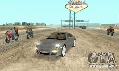 Porsche Carrera S 2009 pour GTA San Andreas