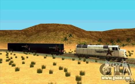 Décrochage des wagons pour GTA San Andreas deuxième écran