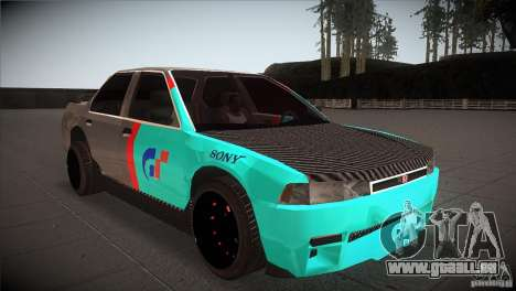 Honda Accord pour GTA San Andreas vue arrière