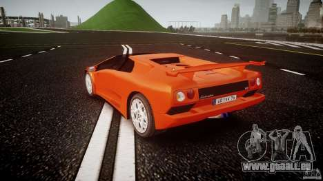Lamborghini Diablo 6.0 VT pour GTA 4 Vue arrière de la gauche