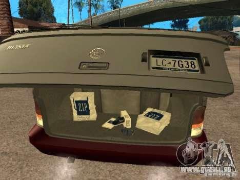 HD Blista für GTA San Andreas Rückansicht