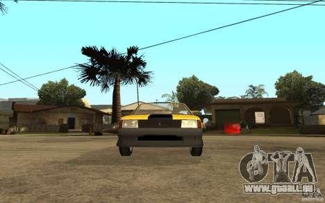 Moskvich 2141 Cabriolet für GTA San Andreas Rückansicht