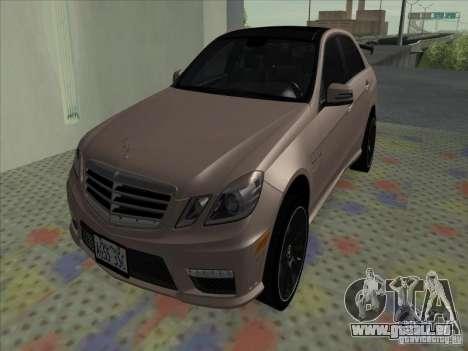 Mercedes-Benz E63 AMG Black Series Tune 2011 pour GTA San Andreas